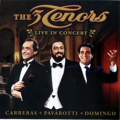 The Three Tenors - The 3 Tenors Live In Concert (CD, Album
