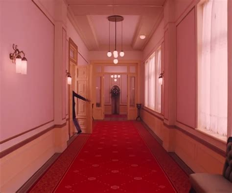 The Grand Budapest Hotel PINK WALLS | California Dreaming