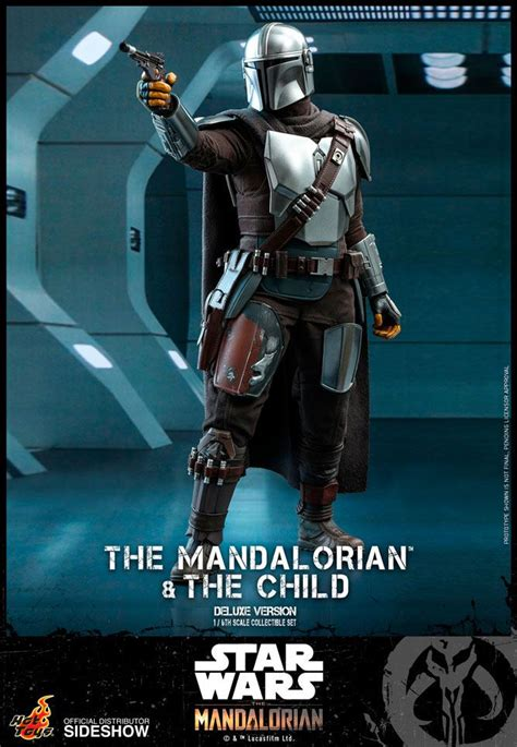 """Hot Toys: Star Wars """"The Mandalorian & The Child"""" Deluxe"""