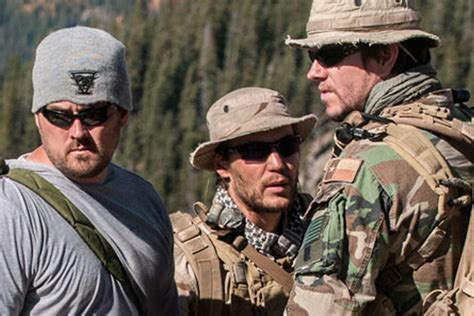 US Navy Seal Celebrity Marcus Luttrell Vacations in San