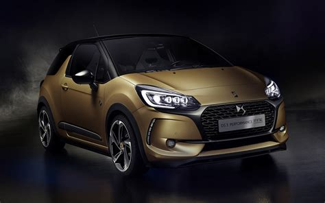 2016 DS 3 Performance BRM Chronographes - Wallpapers and