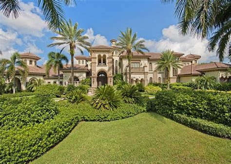 15,000 Square Foot Lakefront Mansion In Naples, FL | Homes