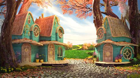 Wizard of Oz - Small Village on Behance