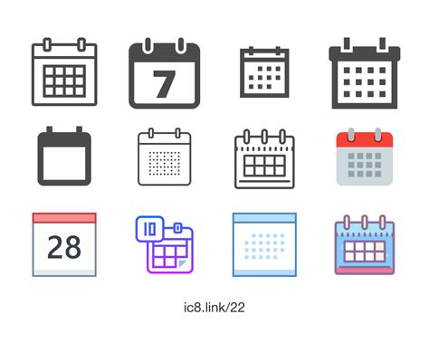 Calendar Icon - Free PNG and SVG Download