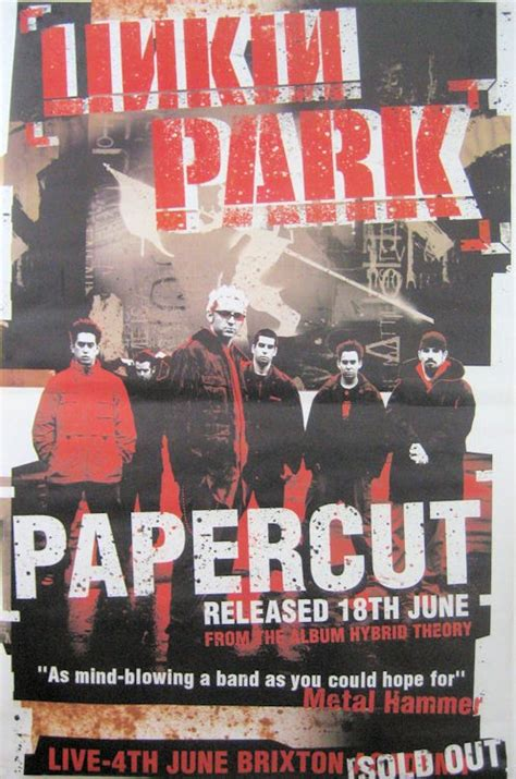 Linkin Park posters - Buy this Linkin Park giant poster