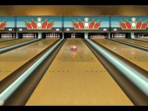 Wii Sports Resort - Bowling - YouTube