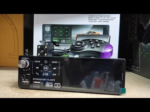 Classic Retro Style Spindle Radio Demo AUX USB and