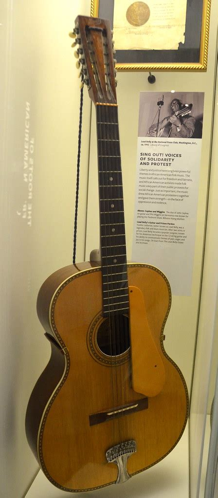 Lead Belly's guitar   National Museum of African American