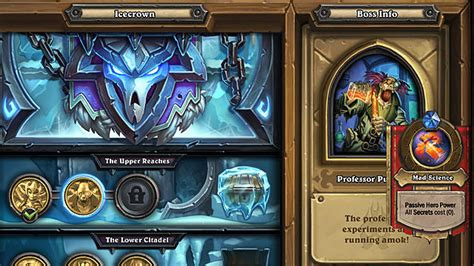 Hearthstone Icecrown Citadel Guide: The Upper Reaches