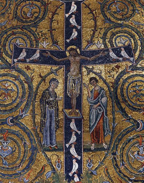 Mosaics in San Clemente, Rome (1130s)