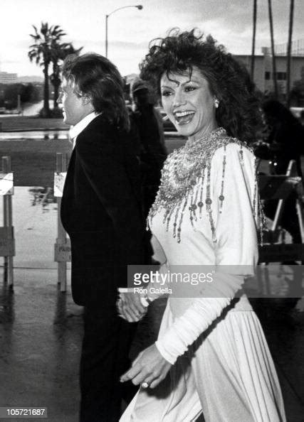 Andy Gibb and Victoria Principal during 8th Annual People