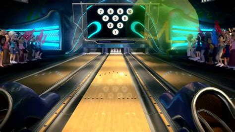 1st PERFECT GAME (10 FRAME BOWLING) XBOX 360 - YouTube