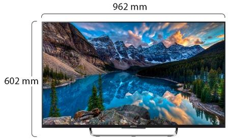 """Sony Bravia 43X800e 4K HDR Smart LCD 43"""" Android TV Black"""