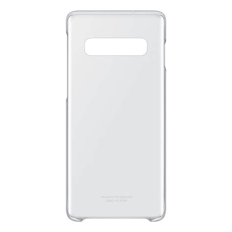 SAMSUNG clear cover transparent Samsung Galaxy S10 - Back