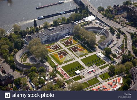 Aerial view, Kurfuerstliches Schloss or Electoral Palace