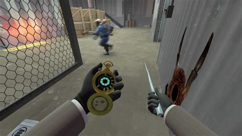 TF2 Spy Cicle, Dead Ringer and Enforcer gameplay (PC, HD