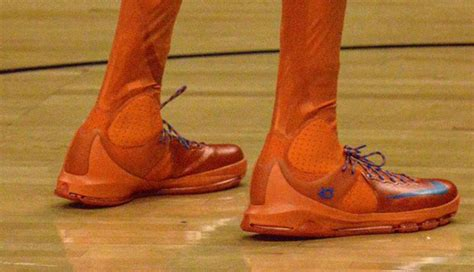 Kevin Durant Wearing the Nike KD 8 Elite High   Sole Collector