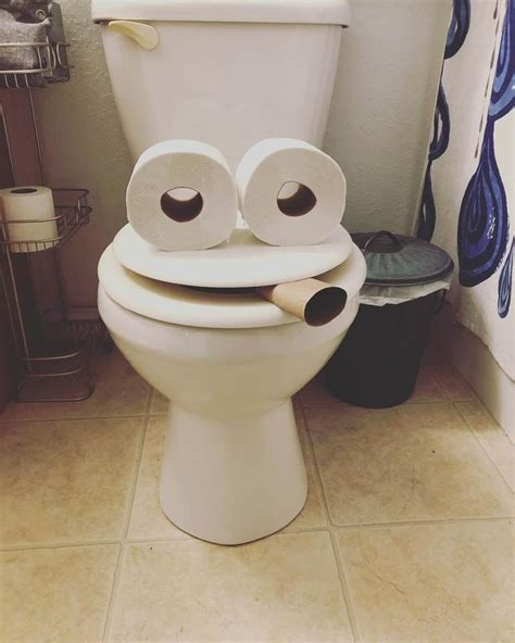 Hilarious Toilet paper Art In Photos - Travels And Living