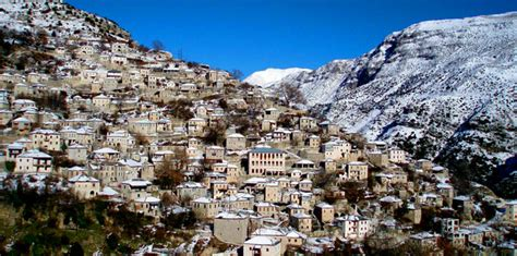 Ten Traditional Greek Villages Waiting to be Explored
