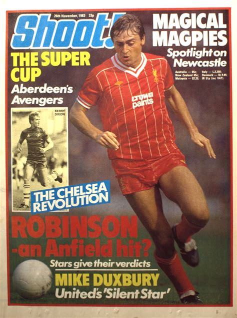Liverpool career stats for Michael Robinson - LFChistory