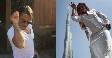 Salt Bae is back in Dubai and he's already had a VIP visitor