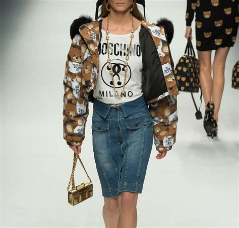 A Bear Strom: Moschino Fall/Winter 2015 Capsule Collection