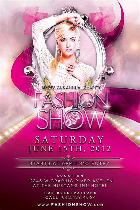 16 + Fashion Show Flyer Templates in Word, PSD, AI, EPS