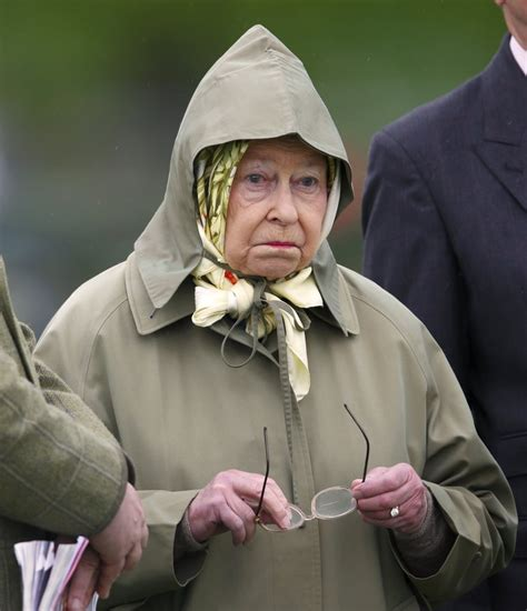 When She Realises Her Hood Makes Her Look Like a Gnome