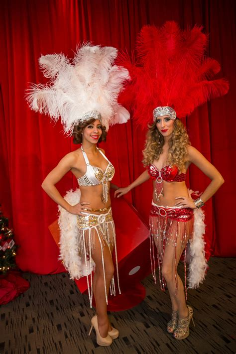 Book Our Showgirls For Your Upcoming Event | Carbone
