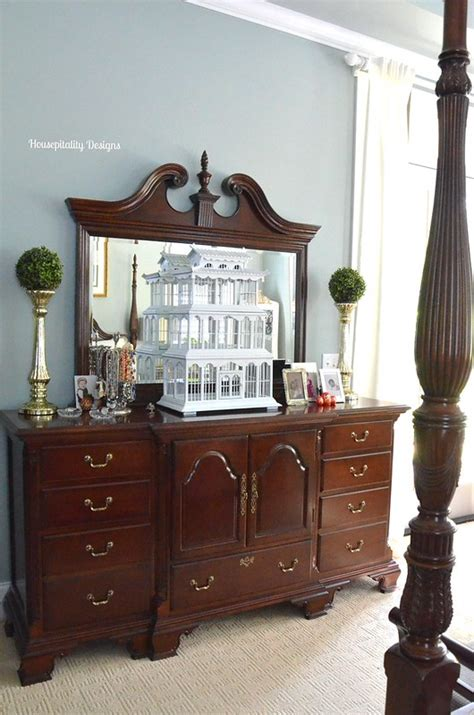 Mirror, Mirror On The Wall {Mini Master Bedroom Makeover}