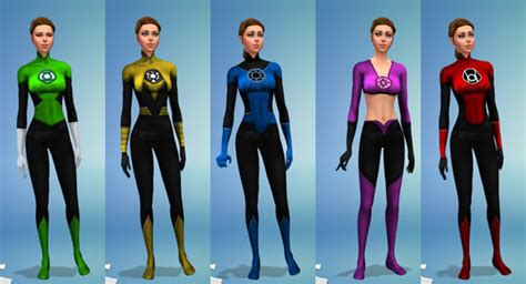 Superhero Clothing - Request & Find - The Sims 3 - LoversLab