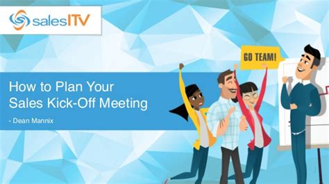 How to Plan Your Sales Kick-Off Meeting